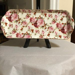 Grace Fine Porcelain Sandwich Tray